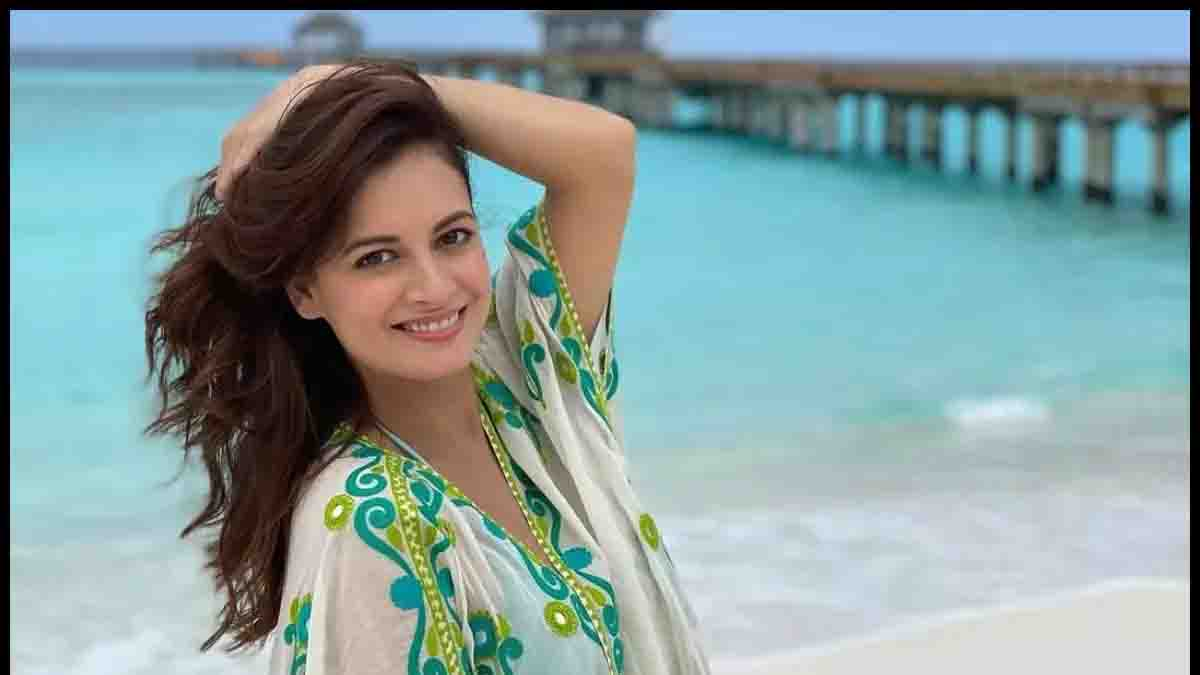 Busy Working From Home, Mom-To-Be Dia Mirza Shares Glimpse Of Her Pregnancy Glow