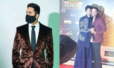 Filmfare Awards 2021 Ayushmann Khurrana Meets Irrfan Khan's Son Babil For The First Time. Here's What He Wrote