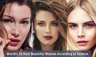 World's 10 Most Beautiful Women According to Science